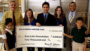 East Lake Foundation Check Presentation